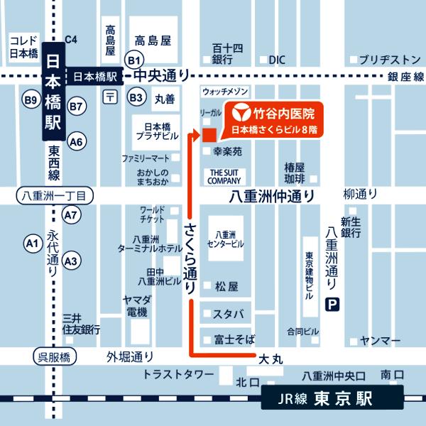 竹谷内医院地図