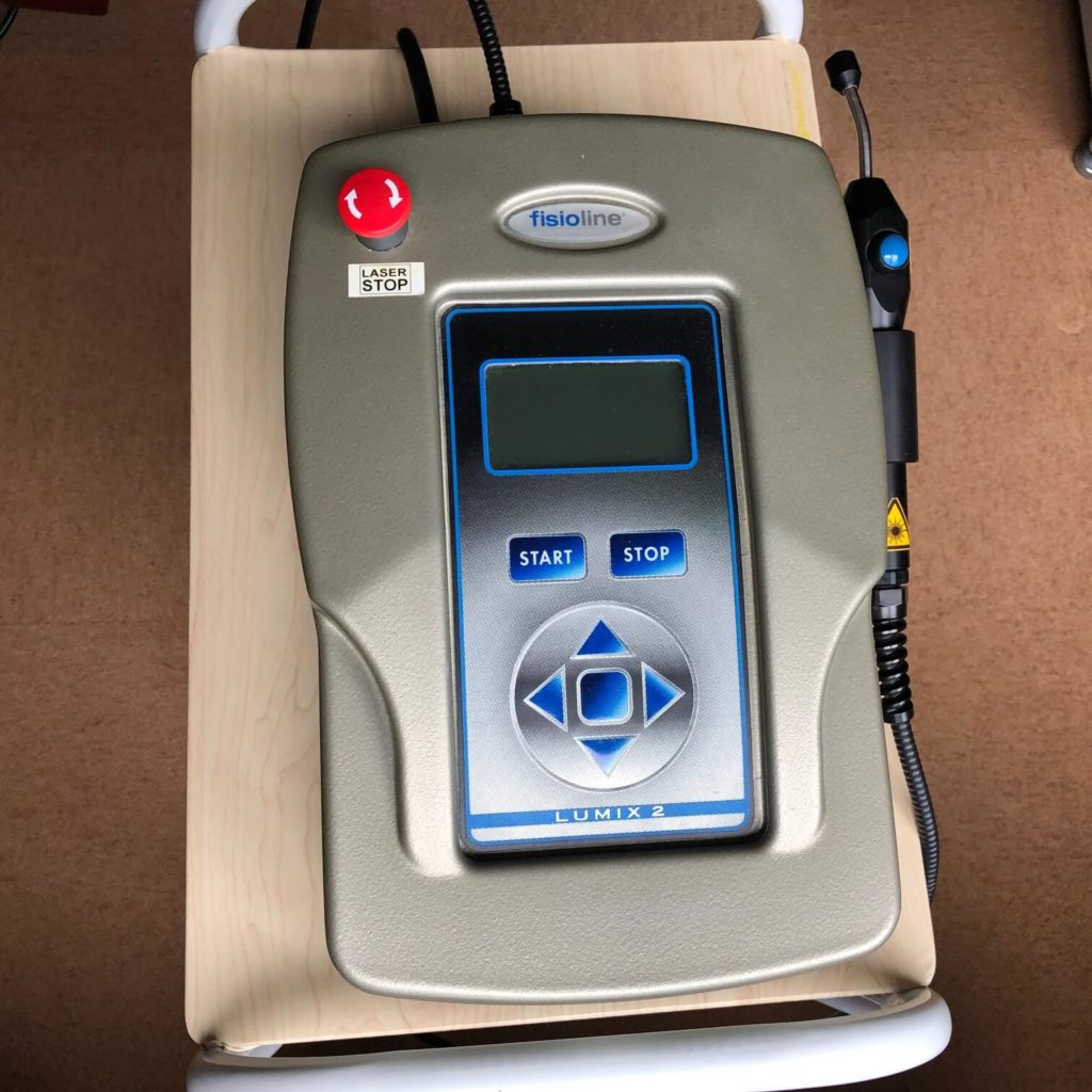 レーザー光線治療器具Lumix2