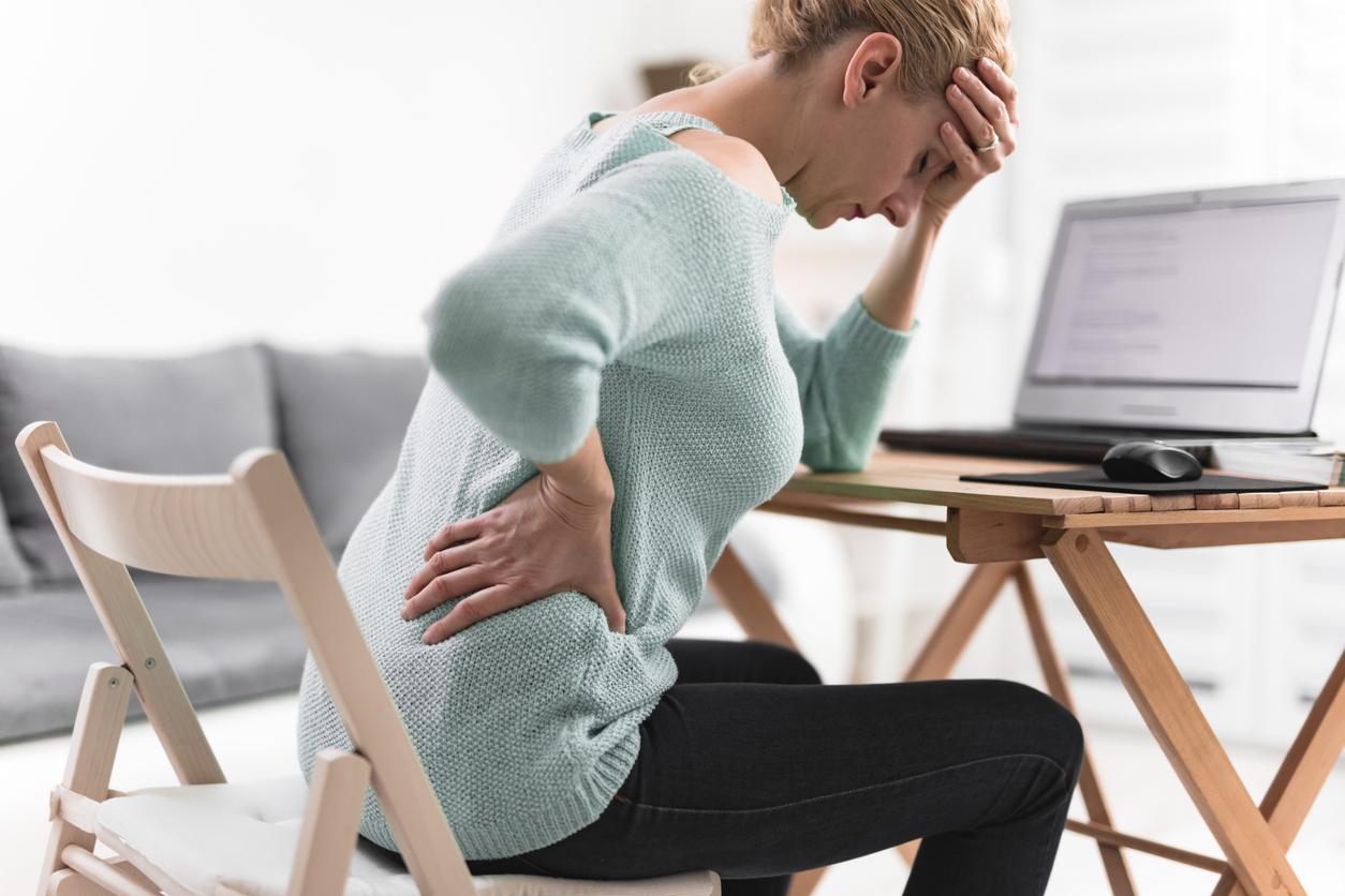 ストレスによる腰痛