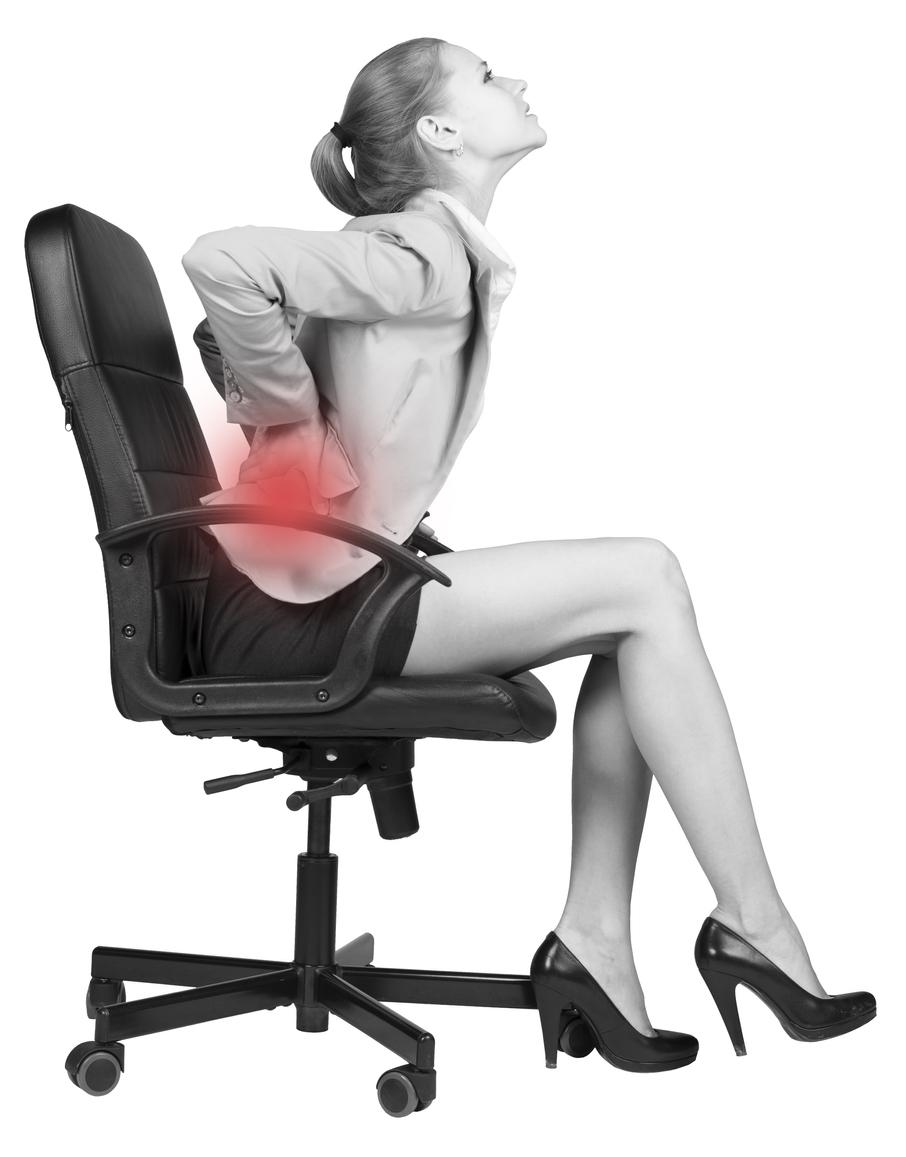 姿勢による腰痛